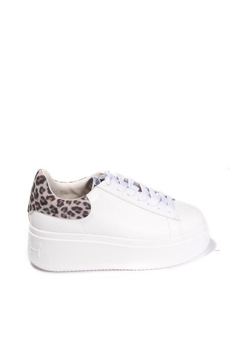 Sneaker moby bianco/nero ASH | Sneakers | MOBY01NAPPA-WHT/BLK/TAN