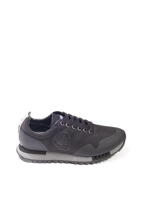 Sneaker denver nylon grigio BLAUER   Sneakers   DENVER03NYLON-BLACK
