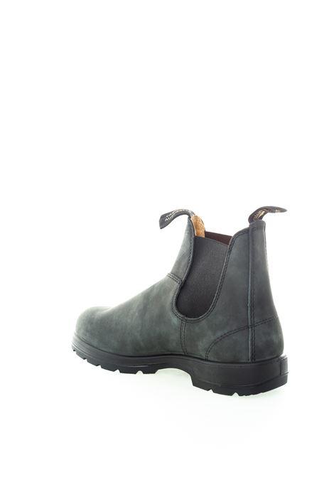 Beatles rustic nero BLUNDSTONE FOOTWEAR | Stivaletti | 587LEATHER-RUSTIC BLACK