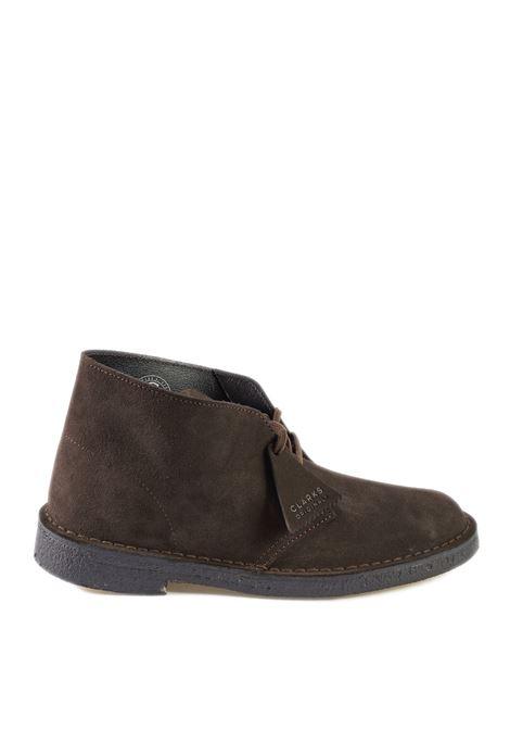 Polacchino desert boot moro CLARKS ORIGINAL | Stringate | 138229DESERTBOOT-BROWN