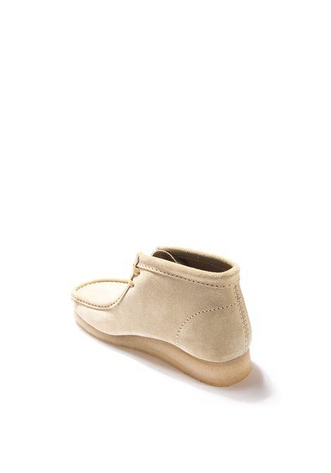 Polacchino wallabee beige CLARKS ORIGINAL | Stringate | 155516WALLABEE BOOT-MAPLE