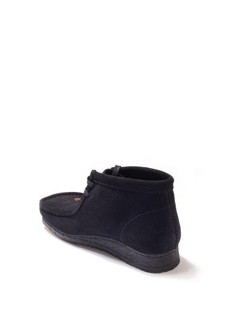 Polacchino wallabee boot nero CLARKS ORIGINAL | Stringate | 155517WALLABEE BOOT-BLACK