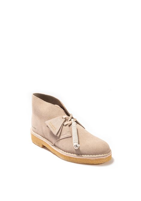 Polacchino desert boot 221 beige CLARKS ORIGINAL | Stringate | 155800DESERTBOOT221-SAND