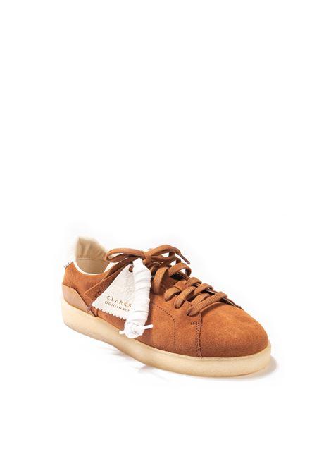 Sneaker tormarch cuoio CLARKS ORIGINAL | Stringate | 162336TORMATCH-D.TAN