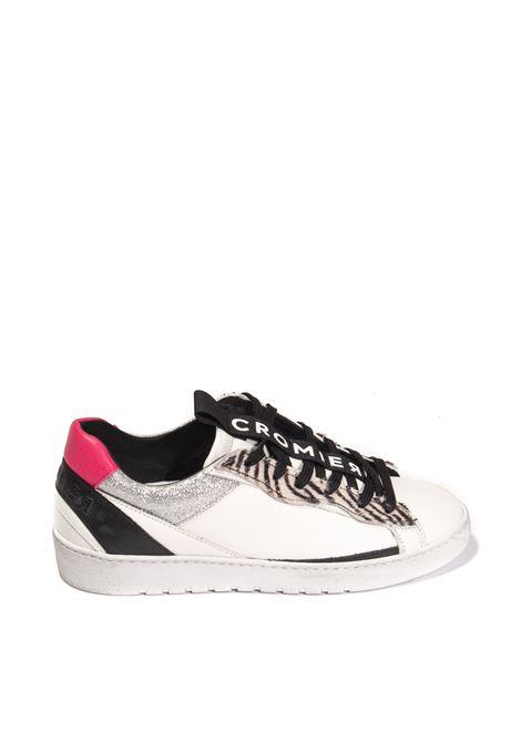 Sneaker alabama bianco CROMIER | Sneakers | C514ALABAMA/HORSY-WHITE/SPIGA