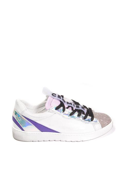 Sneaker glitter bianco CROMIER | Sneakers | C532GLITTER-MERIDA