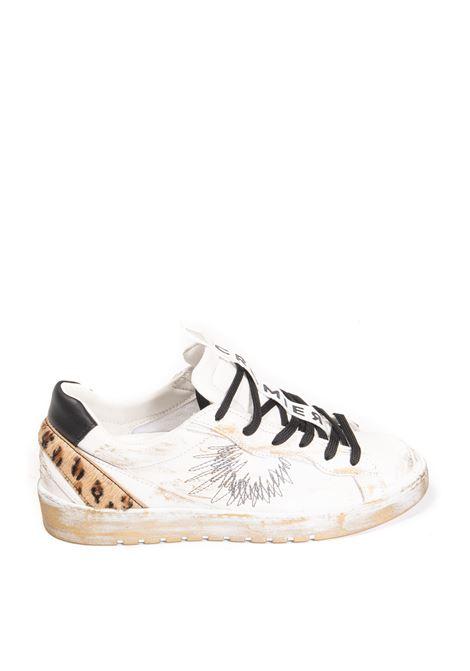 Sneaker fancy bianco CROMIER | Sneakers | C563FANCY-WHITE