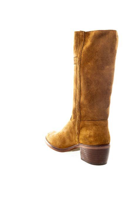 Stivale ricamo cuoio DAKOTA BOOTS | Stivali | 476OIL-CAPPUCCINO