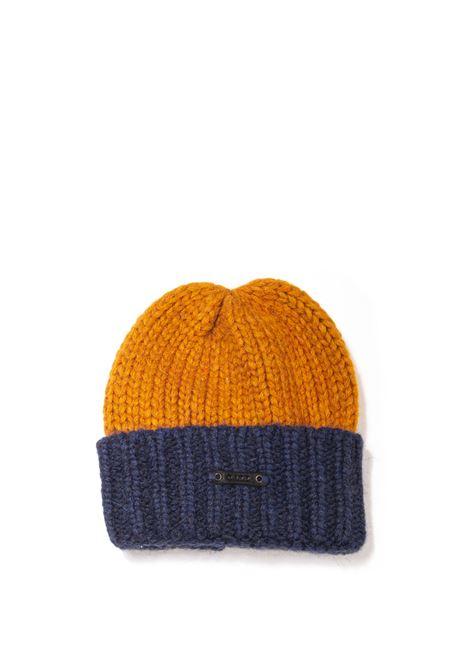 Cappello betto giallo D.A.T.E. | Cappelli | BETTOWOOL-OCHRA/BLUE