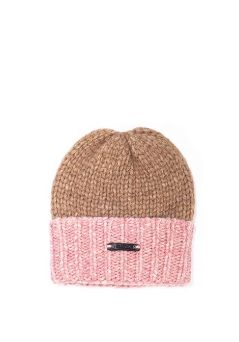 Cappello betto taupe D.A.T.E. | Cappelli | BETTOWOOL-TAUPE/PINK