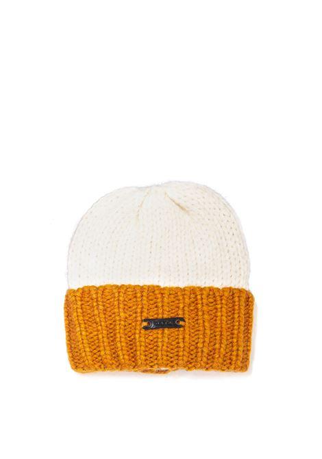 Cappello betto bianco D.A.T.E. | Cappelli | BETTOWOOL-WHITE/KAKI