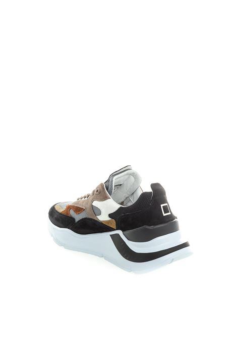 Sneaker fuga mesh taupe D.A.T.E. | Sneakers | FUGAMESH-MUD