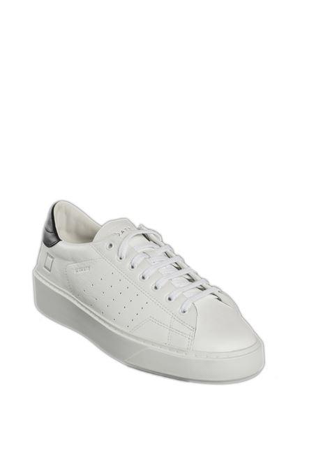 Sneaker levante bianco/nero D.A.T.E. | Sneakers | LEVANTECALF-WHITE/BLACK