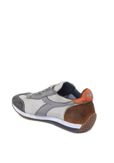 Sneaker equipe dirty grigio/cuoio DIADORA HERITAGE | Sneakers | 174736EQUIPE DIRTY-75043