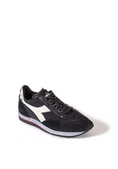 Sneaker equipe dirty nero DIADORA HERITAGE   Sneakers   174736EQUIPE DIRTY-80004