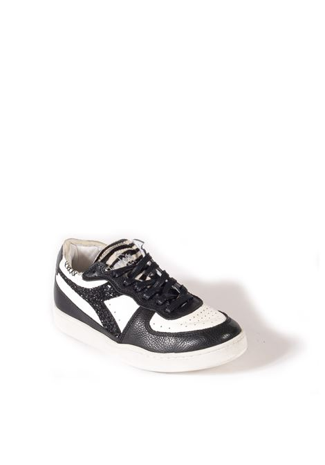 Sneaker mi basket jungle bianco DIADORA HERITAGE | Sneakers | 177826MI BASKET JUNGLE-C0351