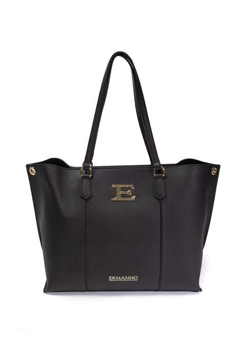 Shopping eba logo nero ERMANNO SCERVINO | Borse a spalla | 223EBA-293