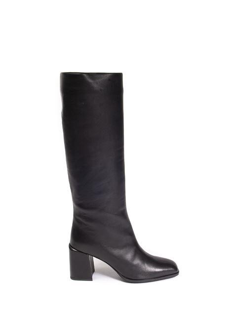 Stivale pelle nero FRANCO RUSSO | Stivali | 3060NAPPA-NERO