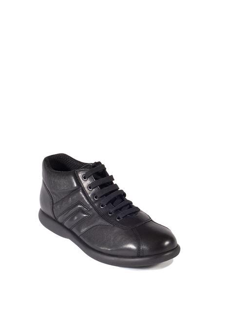 Sneaker rurale nero FRAU | Stringate | 27L4RURALE-NERO