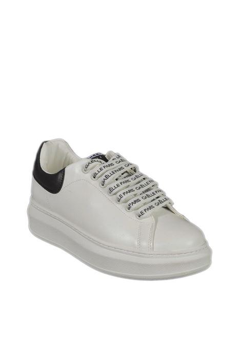 Sneaker logo bianco GAELLE | Sneakers | 2350PELLE-BIANCO