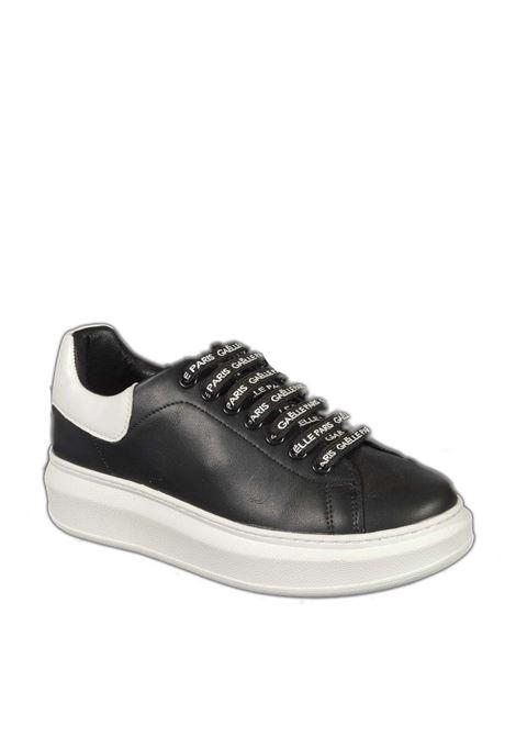 Sneaker logo nero GAELLE | Sneakers | 2350PELLE-NERO