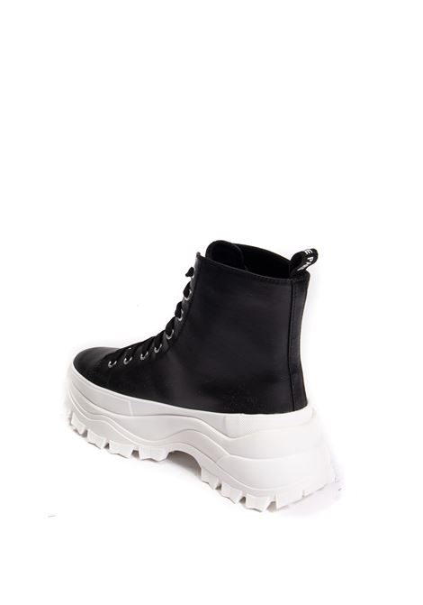 Sneaker pelle nero GAELLE | Sneakers | 2371CANVAS-NERO