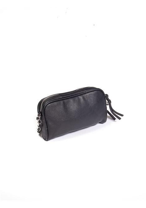 Tracolla mini plain nero GAELLE | Borse mini | 2603PELLE-NERO