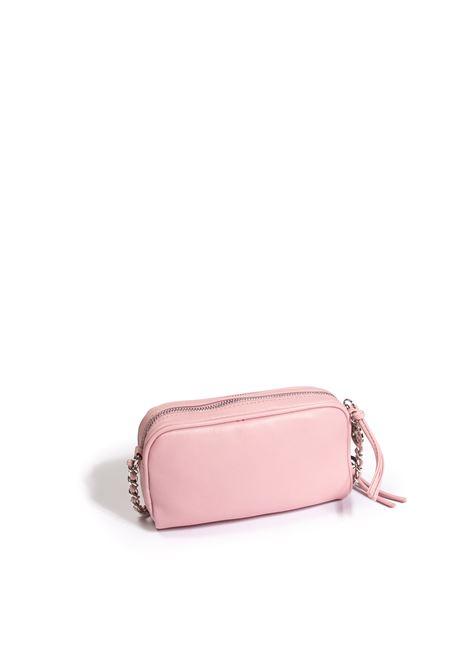 Tracolla mini plain rosa GAELLE | Borse mini | 2603PELLE-ROSA
