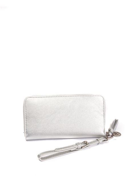 Portafoglio plain argento GAELLE | Portafogli | 2625PELLE-ARGENTO