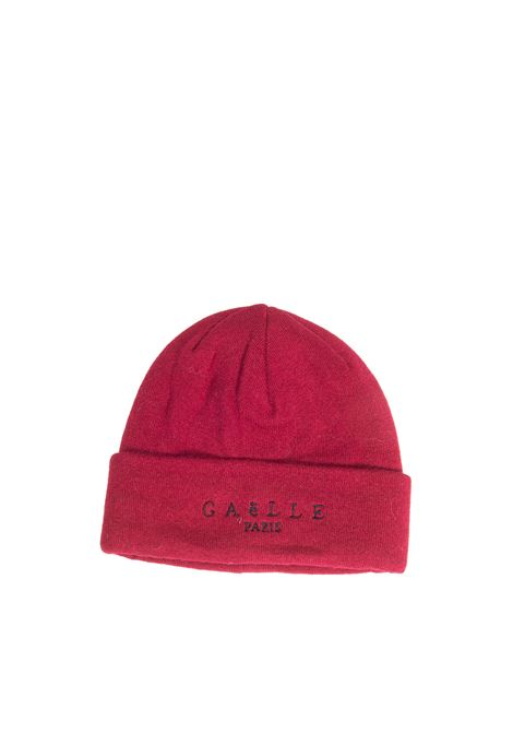 Cappello logo rosso GAELLE   Cappelli   2636LANA-ROSSO