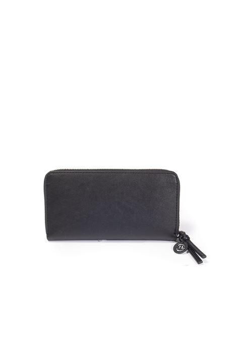 Portafoglio zip nero GAELLE | Portafogli | 2663PELLE-NERO