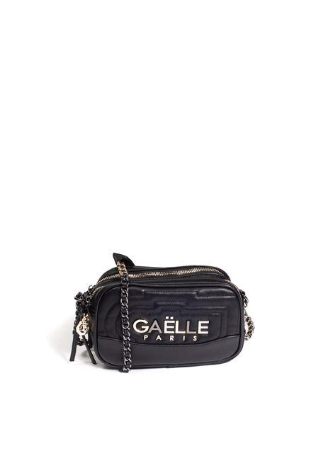 Tracolla zip nero GAELLE | Borse mini | 2697PELLE-NERO