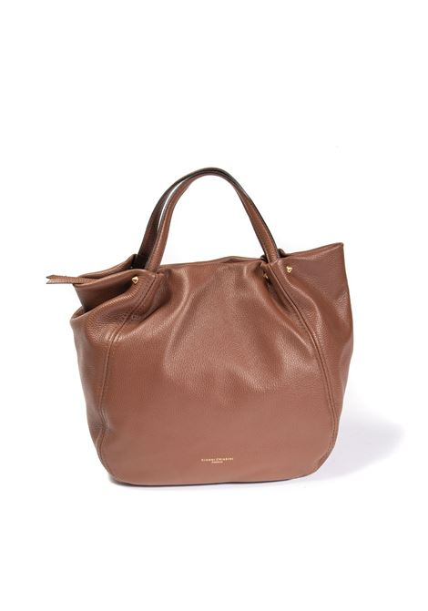 Shopping toulip cuoio GIANNI CHIARINI | Borse a spalla | 8465TULIP-3423