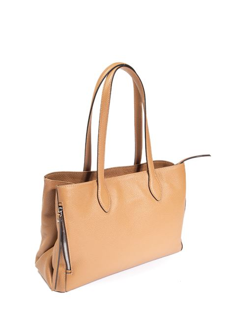 Shopping twin cuoio GIANNI CHIARINI | Borse a spalla | 8869TWIN-009