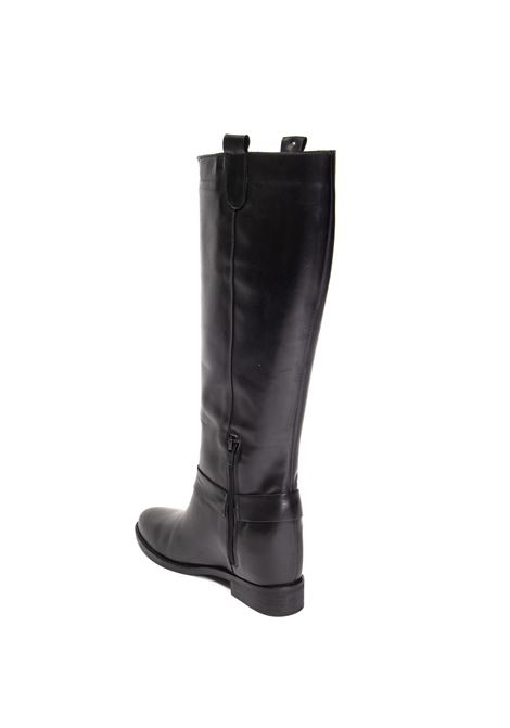 Black paloma boot GISEL MOIRE | Stivali | PALOMAVIT-NERO
