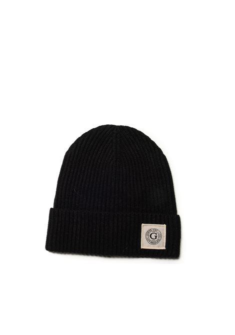 Cappello plain nero GUESS | Cappelli | AM8856LANA-BLA