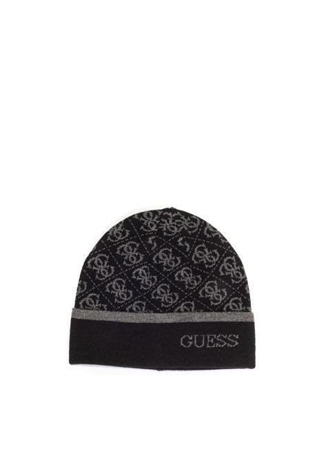 Cappello logo nero GUESS | Cappelli | AM8863LANA-BLA