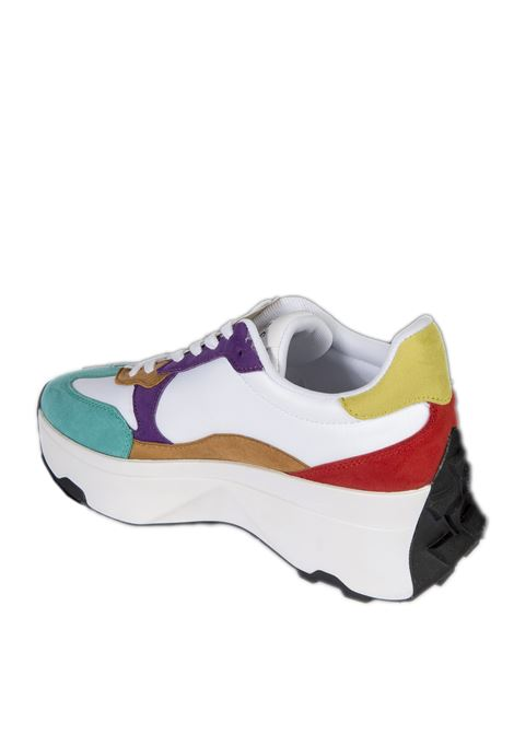 Sneaker caleb bianco/ multi GUESS | Sneakers | FL7CBBCALEBB-MULTI