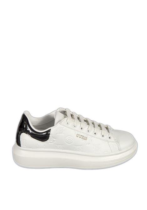Sneaker salerno bianco GUESS | Sneakers | FL7SALSALERNO-WHITE