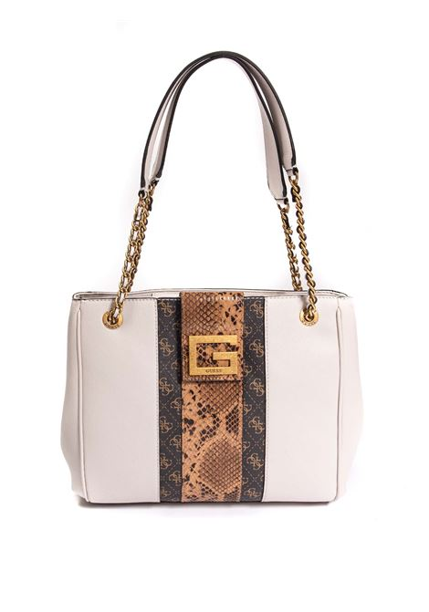Shopping bling taupe GUESS | Borse a spalla | SB7984230BLING-SML
