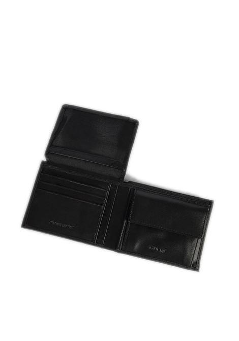 Portafoglio cert patta nero GUESS | Portafogli | SMCERTLEA24-BLA