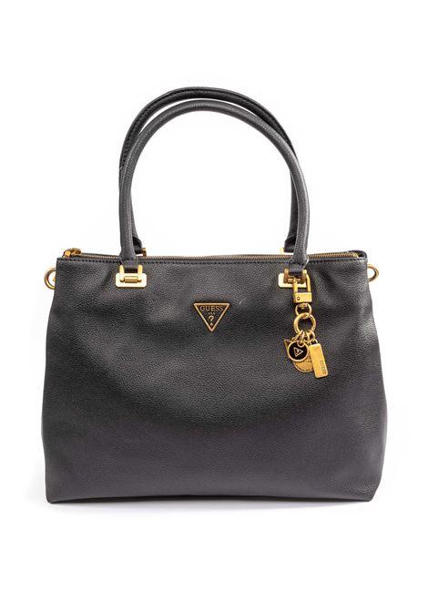 Shopping destiny nero GUESS | Borse a mano | VB7878100DESTINY-BLA