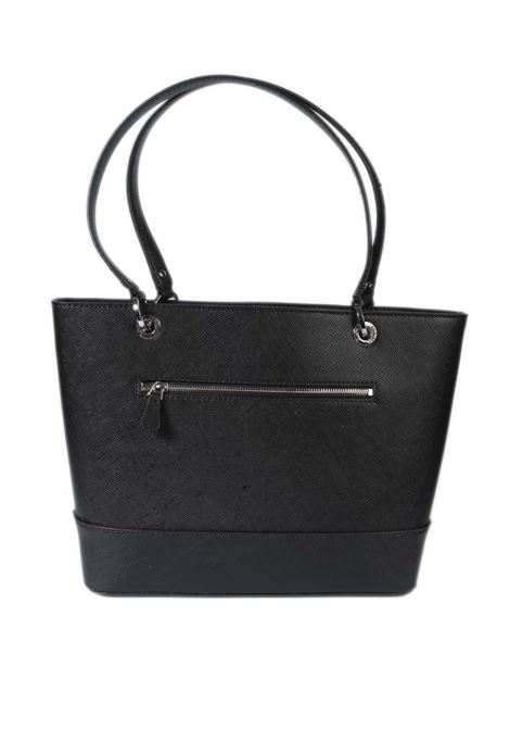 Shopping noelle nero GUESS | Borse a spalla | ZY7879230NOELLE-BLA