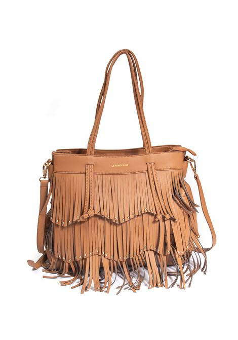 Shopping wendy fringe natural LE PANDORINE | Borse a spalla | 2880WENDY-06