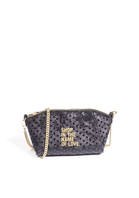 Tracolla vera bag nero LE PANDORINE | Borse mini | 2907VERA BAG-04