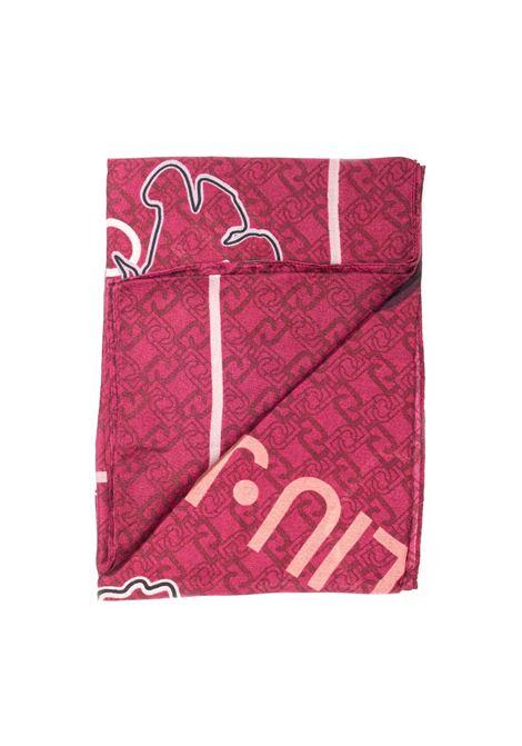 Foulard element rosso LIU JO | Foulards | 2F1052T0300ELEMENT-00827