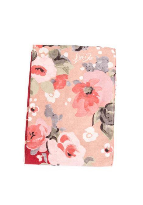 Foulard fiori rosso LIU JO | Foulards | 3F1091T0300MACULA FIORI-X0402