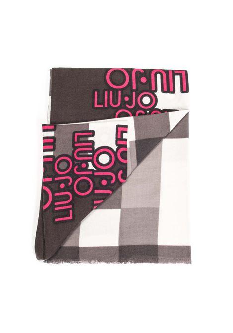 Foulard check nero LIU JO | Foulards | 3F1101T0300CHECK-22222