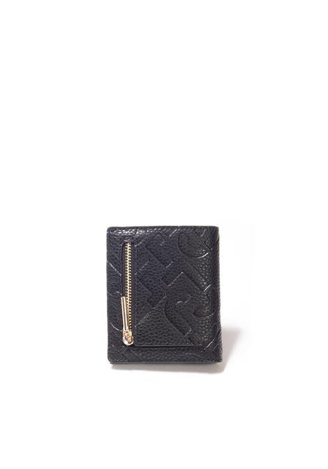 Portafoglio mini 3d nero LIU JO | Portafogli | AF1192E0538PELLE-22222