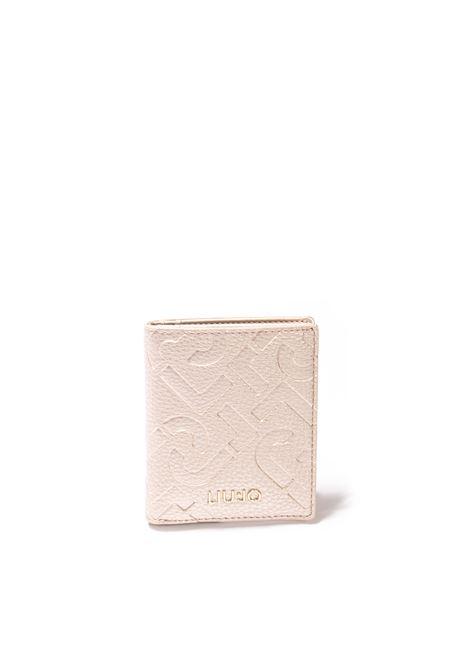 Portafoglio mini 3d oro LIU JO | Portafogli | AF1192E0538PELLE-90048